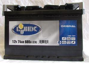 batteria di avviamento per auto 74 ah